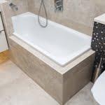 Nyt badeværelse med mange detaljer