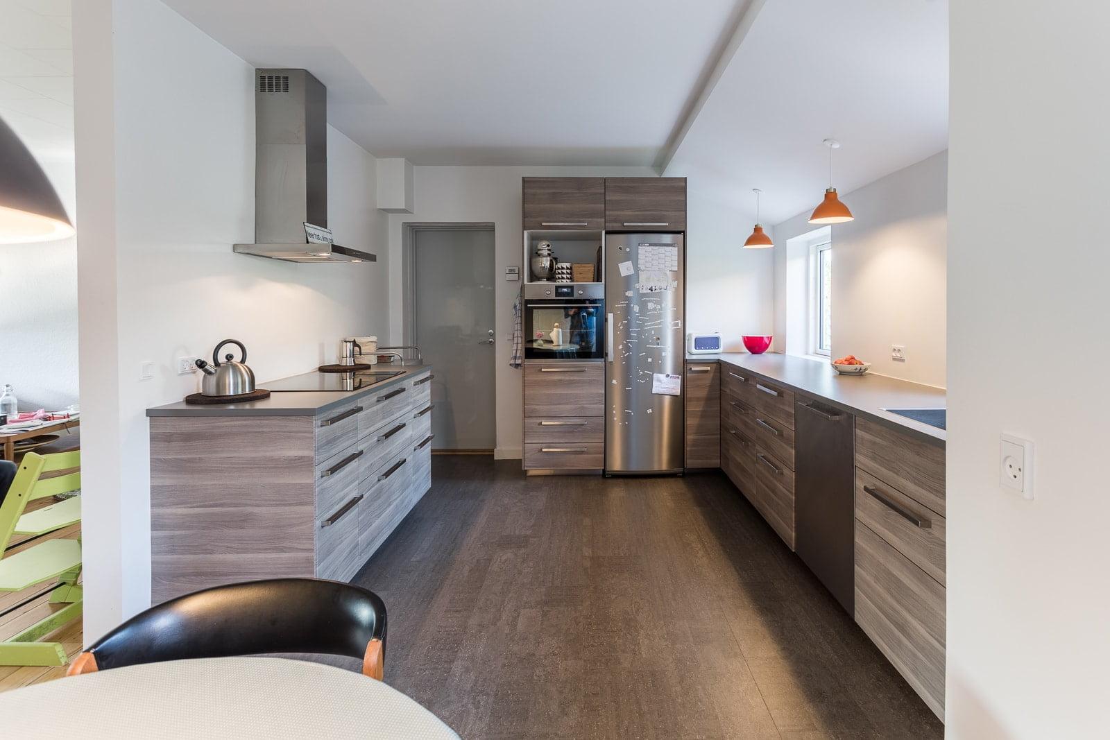 Nyt køkken med masser af plads